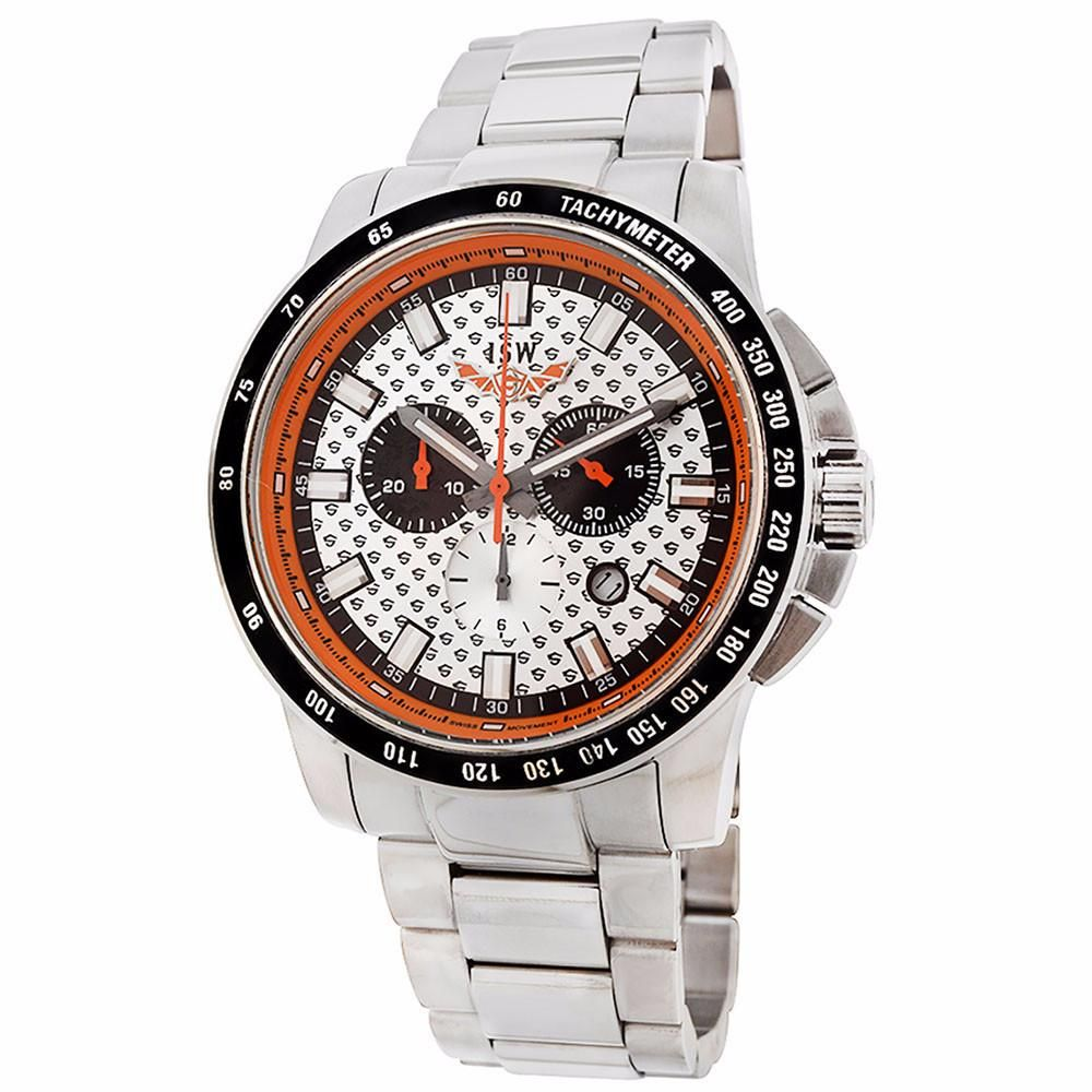 ISW ISW-1006-01 Men's Chronograph Stainless Steel Watch